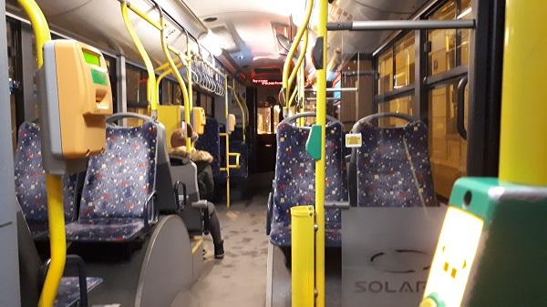 mpk lodz bus interior